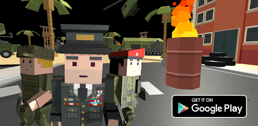 Blocky- Call On Duty: Shooting Games apk