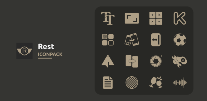 Rest - Icon Pack apk