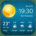 Local Weather Widget&alerts Icon