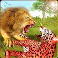 Lion Simulator Attack 3d Wild Lion Games Icon