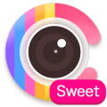 Sweet Candy Camera - selfie face cam&Beauty effect Icon