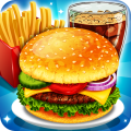 Fast Food  Cooking and Restaurant Game Icon