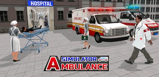Ambulance Driver: Hospital Emergency Rescue Games apk
