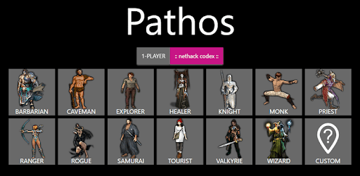 Pathos: Nethack Codex apk