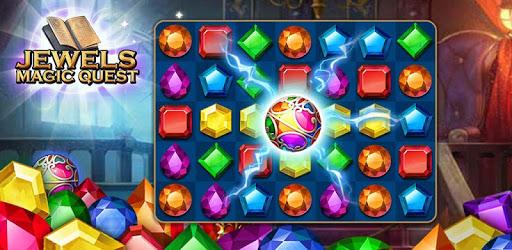 Jewels Magic Quest : Match 3 Puzzle apk