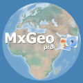 World atlas & world map MxGeo Pro Icon