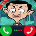Fake Call Bean Icon