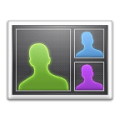 Top Contacts widget Icon