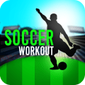 Soccer Training Workout - Fitness Coach Gym Guide Icon