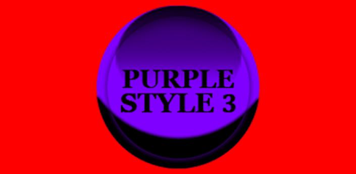 Purple Icon Pack Style 3 ✨Free✨ apk