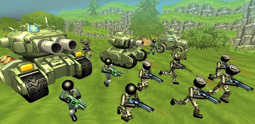 Stickman Tank Battle Simulator apk