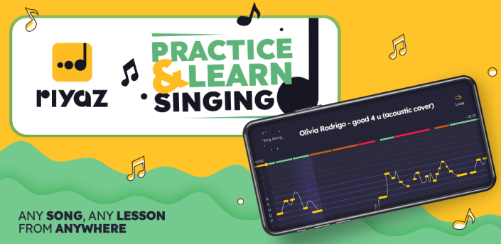 Riyaz - Learn Singing. Practice Any Song or Lesson apk
