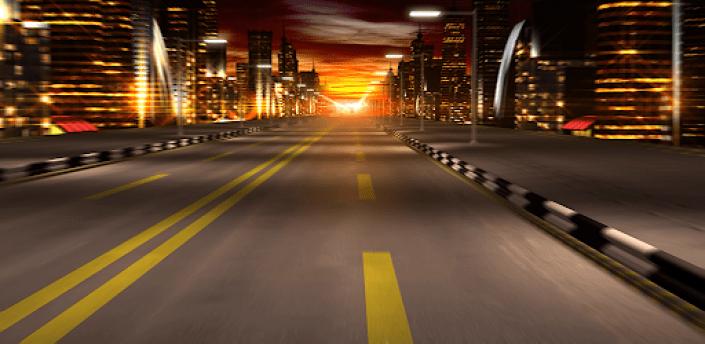 Night City Driving Live Wallpaper apk