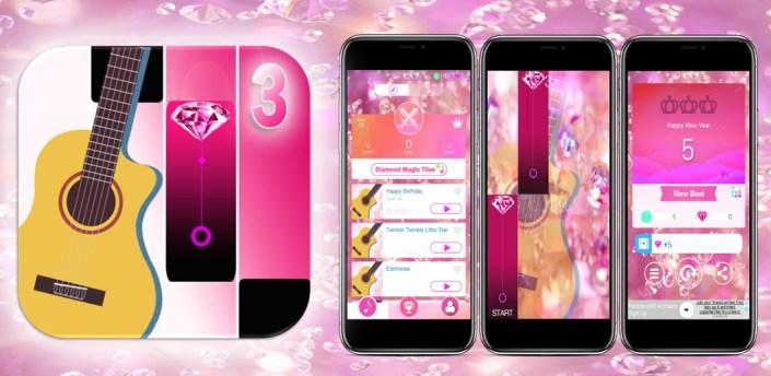 Pink Diamond Magic Tiles - Guitar Edition apk