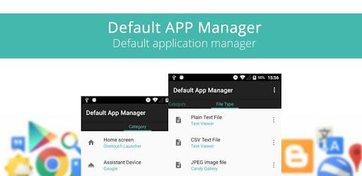 Default App Manager apk