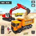Heavy Excavator Crane Simulator 2018 Icon