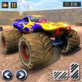 Real Monster Truck Demolition Derby Crash Stunts Icon