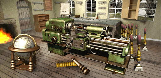 Lathe Machine 3D: Milling & Turning Simulator Game apk