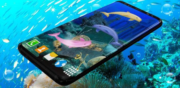 Dolphins Live Wallpaper 🐬 Ocean HD Wallpapers apk