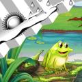 Clock Weather Widget Frogs Icon