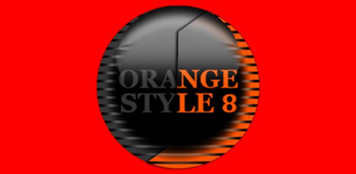 Orange Icon Pack Style 8 ✨Free✨ apk