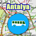 Antalya Bus Map Offline Icon