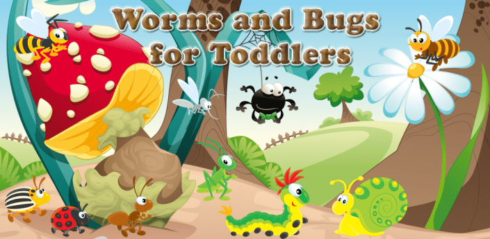 Worms and Bugs for Toddlers apk