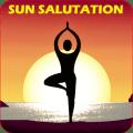 Suryanamaskar Yoga With Timer Icon