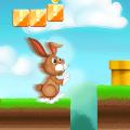 Easter Bunny Run Icon