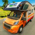 Camper Van Driving 2020 Icon