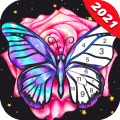 Fun Color:Coloring Games & Happy Color by Number Icon