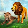 Angry Lion Family Simulator: Animal Adventure Game Icon