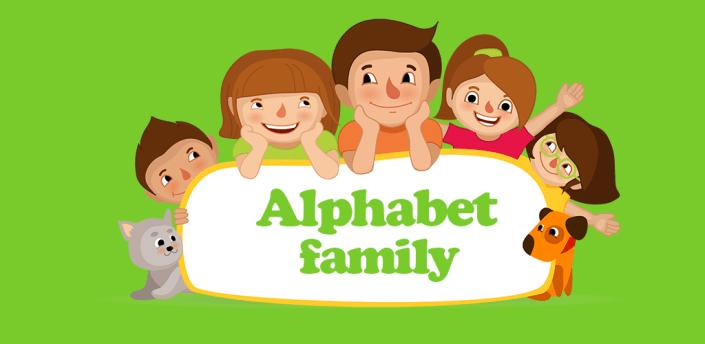 Alphabet family Flashcards ABC apk