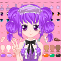 Anime Virtual Character Dress Up Game Icon