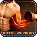 Biceps Workout Exercises Icon