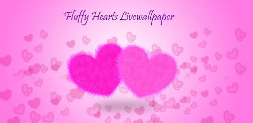 Fluffy Hearts Live Wallpaper apk