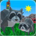 Raccoon Adventure: City Simulator 3D Icon