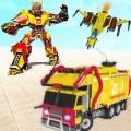 City Garbage Truck : Jet Robot Games Icon