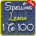 Pro 1 to 100 Numbers – Kids Spelling Learning Game Icon