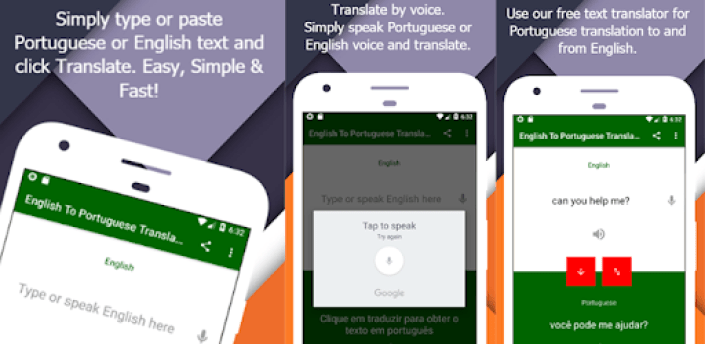 English To Portuguese Translator apk