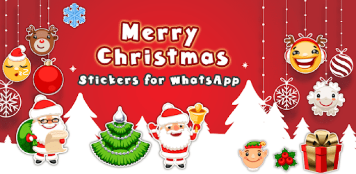 Christmas stickers for WhatsApp, WAStickerApps apk