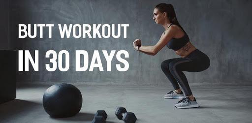30 Days Buttocks Workout For Women, Legs Workout apk