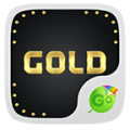 Gold Emoji GO Keyboard Theme Icon