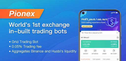 Pionex - Grid Trading Bot, DCABTC apk