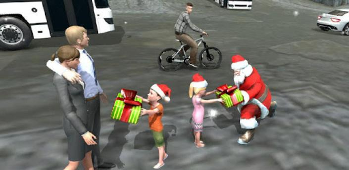 Crime City Simulator Santa Rope Hero apk