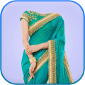 Women Saree Photo Suit : Women Saree Photo Editor Icon