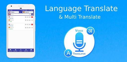 Multi Language Translator - Voice Text apk