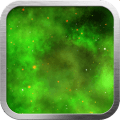 Green Nebula Live Wallpaper Icon
