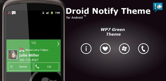 Notify - WP7 Green Theme apk