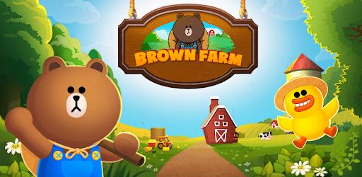 LINE BROWN FARM apk
